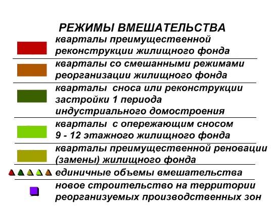 Список пятиэтажек под снос на