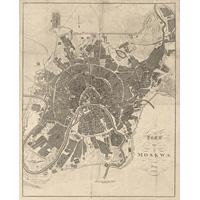 Схема Москвы 1808 года